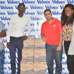 World Menstrual Hygiene Day donations to school girls from Mukuru Slums