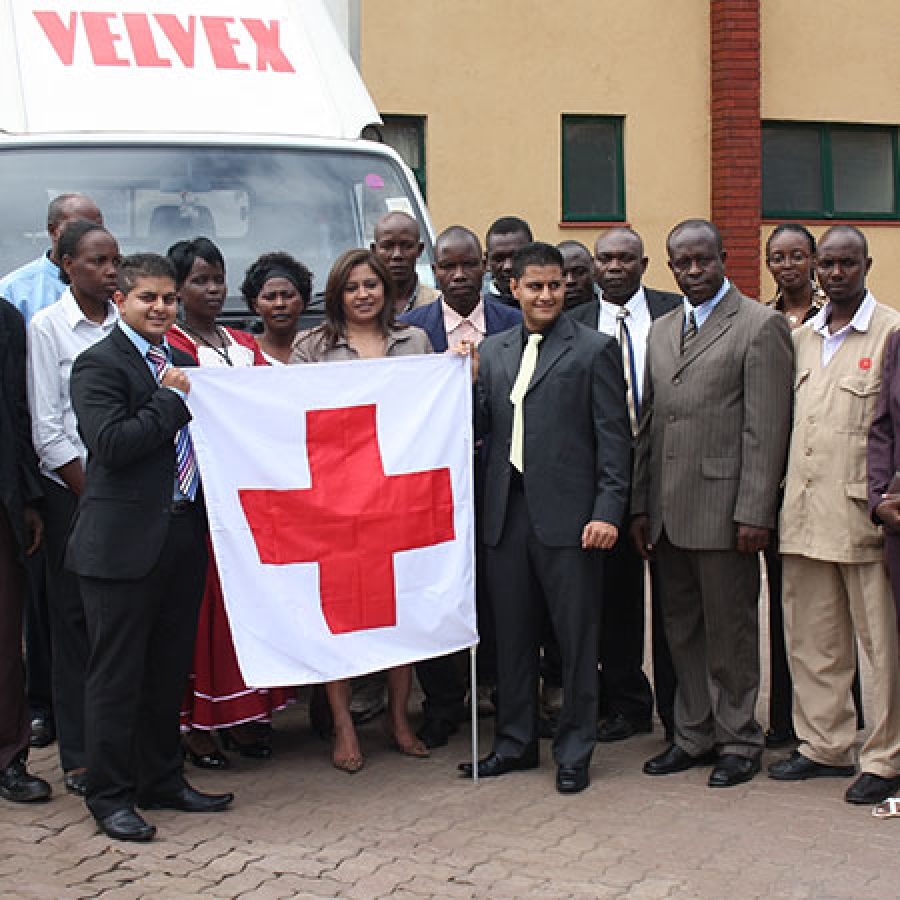 Donations to Kenya Red Cross - Chandaria Industries Limited